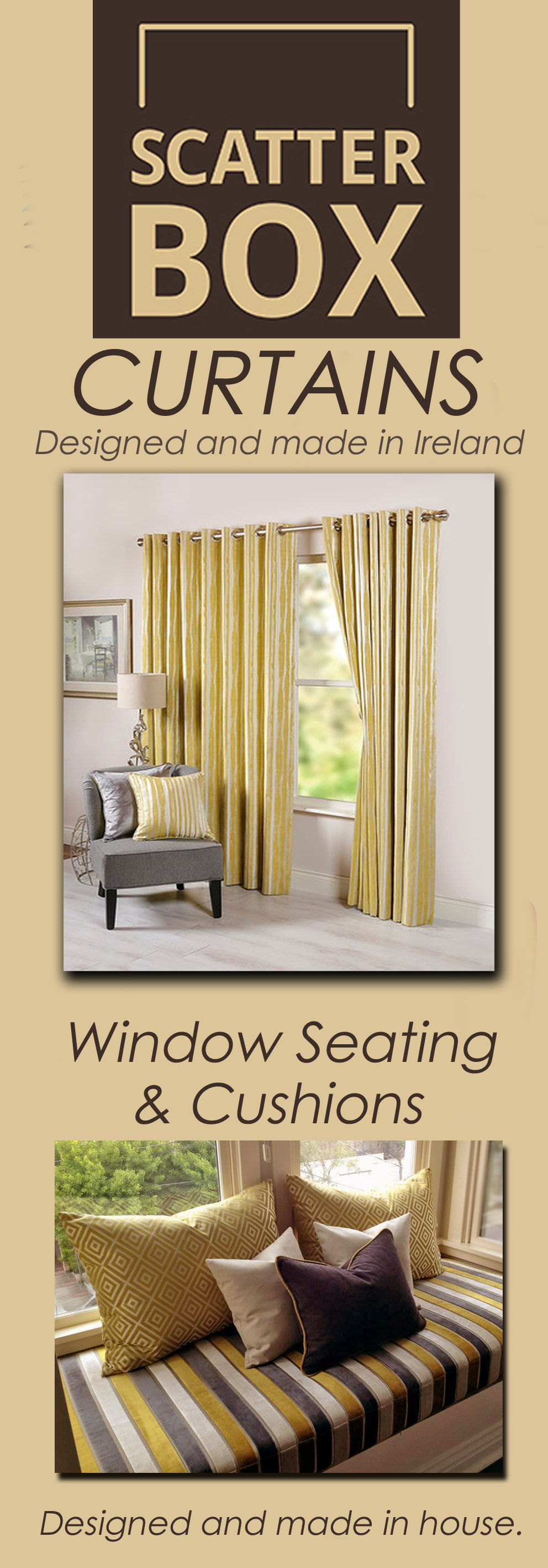 Curtains & Poles - Celtic Blinds Galway